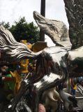 Fliegen-Pferd, die große im Freienskulptur-Herstellung und die Innendekoration-Metalldekoration, Handwerks-Kunst, können angepasst werden, um Skulptur zu bilden