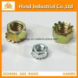 Fournisseur d'or en acier inoxydable A4 M2-K de l'écrou de blocage M16