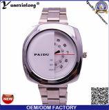Vigilanza 2016 di vendita della manopola di offerta del quarzo del cronografo di affari del Mens della vigilanza Yxl-367 degli uomini caldi dell'acciaio inossidabile