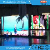 Fixé à l'intérieur de l'intérieur en plein écran HD P5 LED Billboard