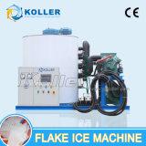 Máquina de gelo do floco das toneladas da grande capacidade 10 de Koller/dia para a pesca