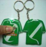 LEIDENE van de Gift van de bevordering Keychain met Aangepast Embleem