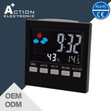 Ce RoHS Station Station Calendário Desk Clock with Color Display