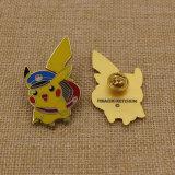 Kundenspezifisches Metall/Taste/Pin/Zinn/Polizei/Militär/Emblem/Name/emaillieren stark Abzeichen mit Backstamp