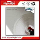 1.82m 57GSM contra onda jejuam papel de transferência seco do Sublimation 72inch para a impressão de Digitas do Sublimation