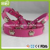 Rosen-roter Haustier-Muffen-Hundehalsring