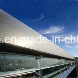 PE/ПВДФ покрытием ячеистой алюминиевой конструкции стены оболочка