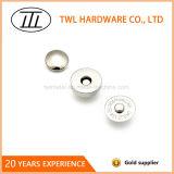 кнопка крома 14mm магнитная с 2 заклепками