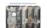 Цветастое трудное iPhone 5 аргументы за телефона пробела силикона PC TPU 6 робот панцыря кольца 6s 7