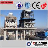 Os fornos de pré-aquecedor para produção de cal 200-800 Tpd