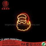 Impermeable LED 2D Santa Claus Motif Light para la decoración de Navidad