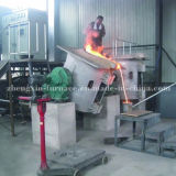 200kgs inducción de fusión del horno de chatarra de cobre