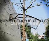 Het openlucht Duurzame Duidelijke Afbaarden van het Polycarbonaat met de Steunen van het Aluminium (yy1000-F)