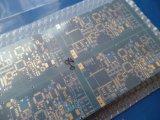 Circuito de múltiples capas azul del PWB de Matt con la tarjeta del oro de la inmersión