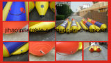 Barca di banana gonfiabile di doppia riga per la pala