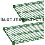 Grünes Epoxiddraht-Regal