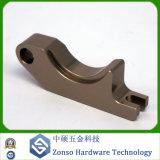 La précision a personnalisé la commande numérique par ordinateur en aluminium anodisée par OEM en métal usinant/pièces usinées