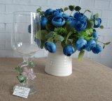 結婚式の装飾のためのホウケイ酸塩ガラスのゴブレットのコップ
