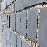 De basalto de luz/oscuridad mosaico de basalto para pavimentación