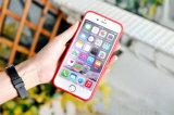 Qualitätslederner Mappen-Kasten mit Einbauschlitz für iPhone