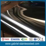 отделка нержавеющей стали 1.0mm почищенная щеткой толщиной металлопластинчатая ранг 316L