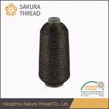 Filato metallico del merletto di tessuto della fantasia di facile impiego del tessuto fatto nel Giappone