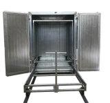 Rivestimento elettrico Furnance della polvere per il trattamento dei metalli rivestiti della polvere