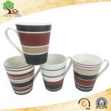 Tazza di ceramica della tazza promozionale di disegno moderno per tè nella fabbrica della Cina