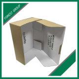 製造業者のFoldableフルートの波形のクラフトの段ボール紙ボックス