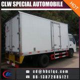 Camión refrigerado del congelador del vehículo de los residuos médicos de Isuzu del tamaño pequeño