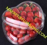 Envase plástico automático de la fruta que hace la máquina