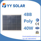 Módulo solar de alta eficiência 40W / 50W / 80W para iluminação LED
