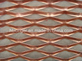 Rete metallica ampliata ricoperta PVC