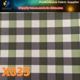 Ткань оптового тканья проверки полиэфира популярного Windproof для одежды (X035-37)