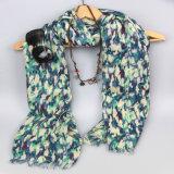 Nuova sciarpa di tintura del reticolo dell'artista, scialli dell'accessorio di modo delle donne