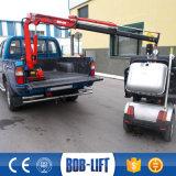 Mini grue de boum hydraulique 500 kilogrammes avec le camion