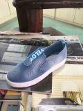 ジーンズの在庫の物質的なズック靴