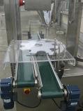 Máquina de rellenar del taladro con la pesa de chequeo en línea