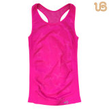 Women's Sports Vest rouge sous-vêtements