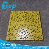 Comité van het Plafond van de fabriek het Waterdichte Aluminium Geperforeerde