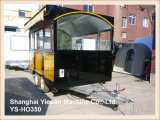 Ys-Ho350 los 3m con el coche móvil de los alimentos de preparación rápida de la cocina del carro del Crepe de la cerca de 50m m para la venta