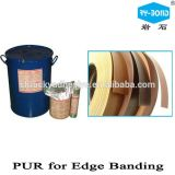 PVC端バンディングポリウレタンPurの熱い溶解の付着力の接着剤RoHS