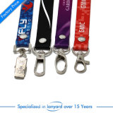 OEM Custom Hot Sale Sublimation Lanyard com Buckle de segurança