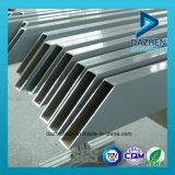 공장 직매 장방형 사각 관 6063 알루미늄 단면도