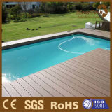 Engineered WPC Composite Decking pour la piscine de plein air