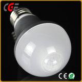Sensor de Infravermelhos quente Sensor PIR Lâmpada Lâmpada LED lâmpadas LED do melhor preço E27/B22 AC85V-265V