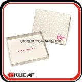 Kundenspezifischer Splitter-heißer Folien-Firmenzeichen Cardbord Schal-Kasten