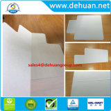 Bureau clair chaise pliable tapis de sol pour les planchers de bois rectangulaire avec queue