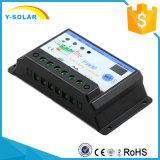 contrôleur S10I de charge de la batterie de panneau solaire de 10A 12V 24V Settable