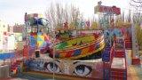 Plaque tournante de disco de matériel d'amusement de parc à thème pour la conduite de Kiddie de stationnement